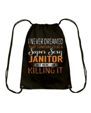 Janitor Drawstring Bag thumbnail