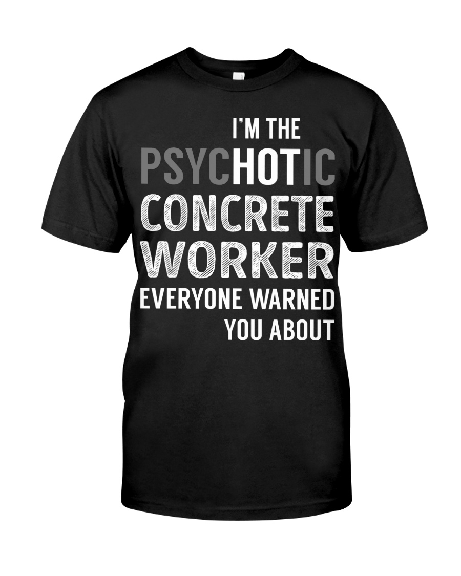 Concrete Worker Classic T-Shirt