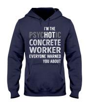Concrete Worker Hooded Sweatshirt thumbnail