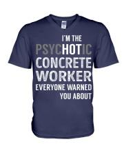 Concrete Worker V-Neck T-Shirt thumbnail