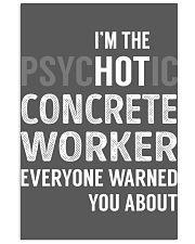 Concrete Worker 11x17 Poster thumbnail