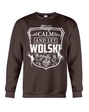 WOLSKI - Handle It Crewneck Sweatshirt thumbnail