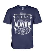 ALAYON - Handle It V-Neck T-Shirt thumbnail