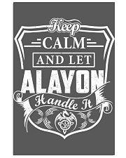 ALAYON - Handle It 11x17 Poster thumbnail