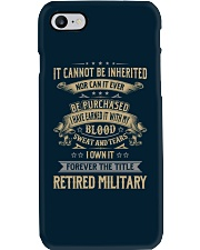 Retired Military Phone Case thumbnail
