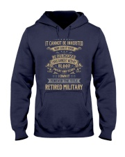 Retired Military Hooded Sweatshirt thumbnail