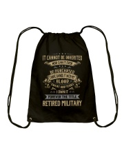 Retired Military Drawstring Bag thumbnail