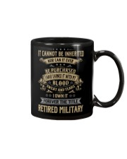 Retired Military Mug thumbnail