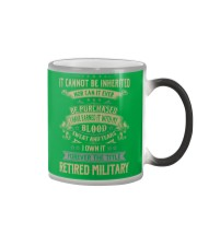 Retired Military Color Changing Mug thumbnail