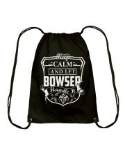 BOWSER - Handle It Drawstring Bag thumbnail