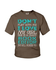 Book Editor Youth T-Shirt thumbnail
