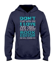Book Editor Hooded Sweatshirt thumbnail