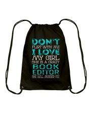 Book Editor Drawstring Bag thumbnail