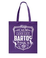 BARTOS - Handle It Tote Bag thumbnail