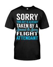 Flight Attendant Classic T-Shirt front