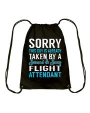 Flight Attendant Drawstring Bag thumbnail