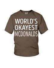 Mcdonalds Youth T-Shirt thumbnail