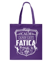 FATICA - Handle It Tote Bag thumbnail
