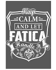 FATICA - Handle It 11x17 Poster thumbnail