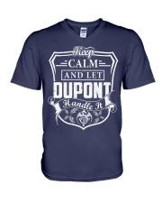 DUPONT - Handle It V-Neck T-Shirt thumbnail
