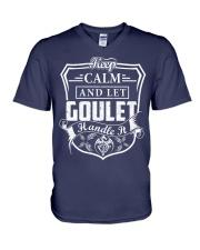 GOULET - Handle It V-Neck T-Shirt thumbnail
