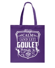 GOULET - Handle It Tote Bag thumbnail