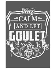 GOULET - Handle It 11x17 Poster thumbnail
