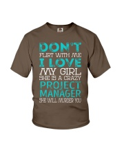 Project Manager Youth T-Shirt thumbnail