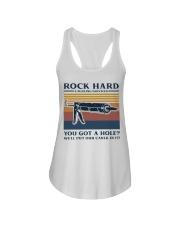 Rock Hard Ladies Flowy Tank thumbnail