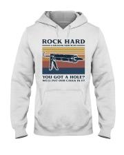 Rock Hard Hooded Sweatshirt thumbnail