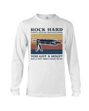 Rock Hard Long Sleeve Tee front