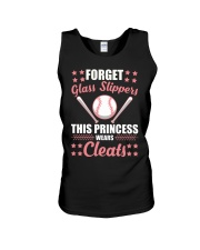 Softball Cleats Princess Softball Girls Unisex Tank thumbnail