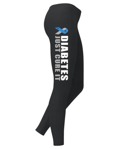 Diabetes Just Cure It Legging