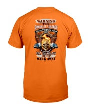 Concrete Finisher has a twisted mind Classic T-Shirt thumbnail