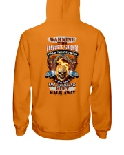 Concrete Finisher has a twisted mind Hooded Sweatshirt back
