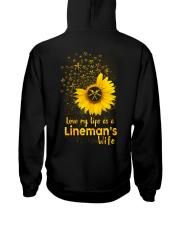 Love my llife as a Lineman's wife  Hooded Sweatshirt tile