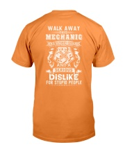 mechanic has anger issues and a dislike for stupid Premium Fit Mens Tee thumbnail