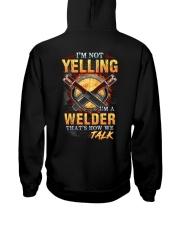 I am not yelling that's how Welder's talk Hooded Sweatshirt thumbnail