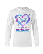 Just a Girl who Loves her Mechanic Long Sleeve Tee thumbnail