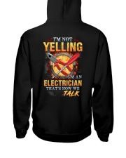 I am not yelling that's how Electrician's talk Hooded Sweatshirt thumbnail
