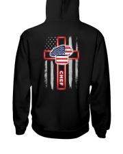 Proud American Chef Flag Hooded Sweatshirt tile
