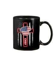 Proud American Chef Flag Mug tile