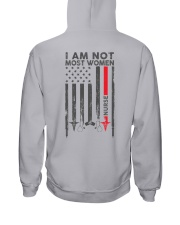 I am not most women Nurse Shirt Hooded Sweatshirt thumbnail