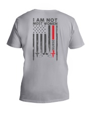 I am not most women Nurse Shirt V-Neck T-Shirt thumbnail