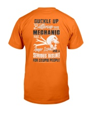 Mechanic: Serious dislike for Stupidity Classic T-Shirt thumbnail