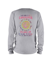 I was born to be a Caregiver Long Sleeve Tee thumbnail