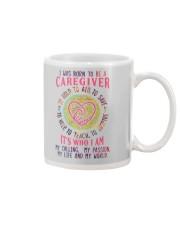 I was born to be a Caregiver Mug thumbnail