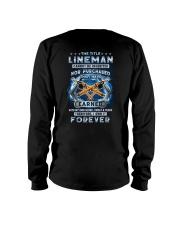 I own the title Lineman forever Long Sleeve Tee tile