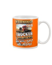 Trucker: I don't play well with stupid people Mug thumbnail