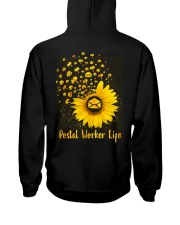 Sunflower Postal Worker Hooded Sweatshirt thumbnail